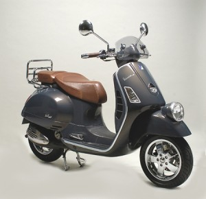Vespa's 60th Anniversary Limited Edition Scooters