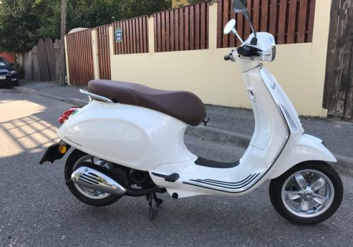Superb Piaggio Vespa model Primavera 50cc, 2017, 0 km!