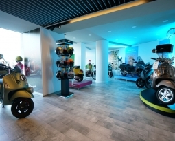 Noua casa Vespa by The Bike Hub