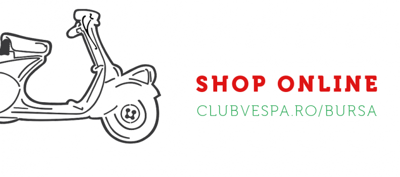 Lansare Shop Online Vespa Club Romania