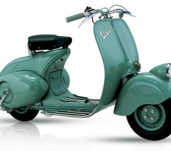 History of Vespa Models