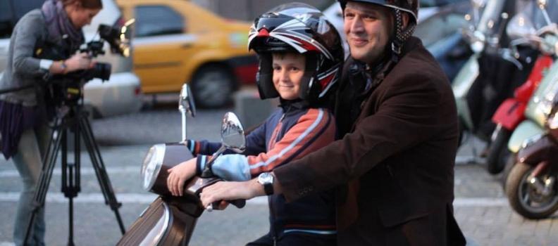 Transportul copiilor pe motociclete