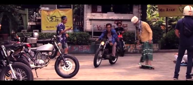 city ride in Jakarta