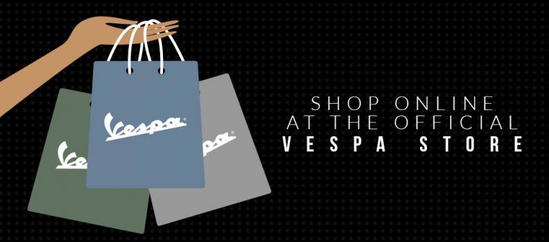 Noul magazin online Vespa