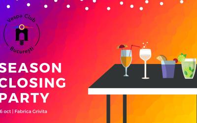 Season closing party 2021 by Vespa Club Bucuresti