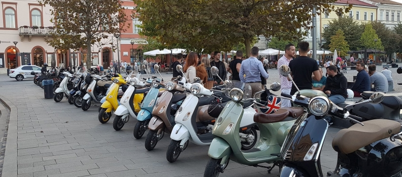 """Cluj: Sustine proiectul de """"Amenajare parcari pentru scutere si motociclete"""""""