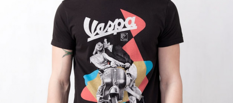Vespa T Shirt @Pull and Bear