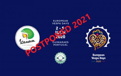 European Vespa Days 2020- Guimaraes / Portugal