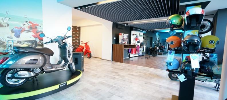 Pre-deschidere The Bike Hub – Casa di Vespa in Bucuresti