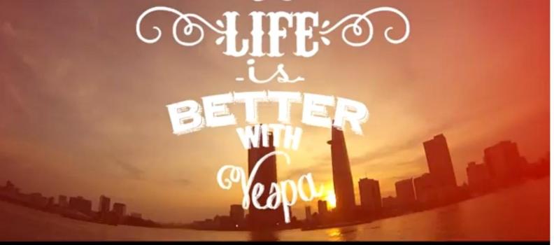 Viata este mai buna cu … Vespa