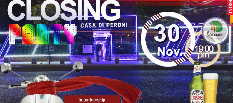 Vespa Closing Season Party 2018 @ Casa di Peroni