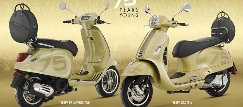 75 de ani de Vespa