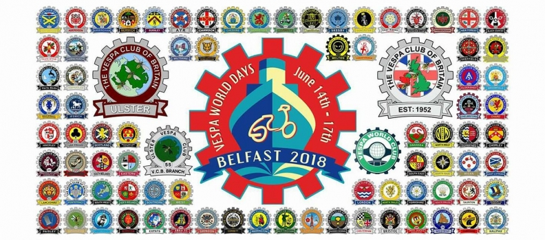 Vespa World Days 2018 – Belfast / N Ireland
